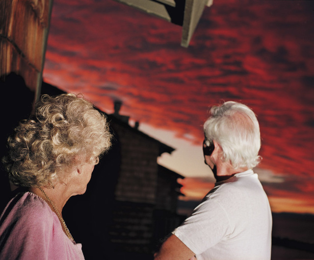 Larry Sultan, 'Sunset, from the series Pictures from Home  ', 1989, Yancey Richardson Gallery