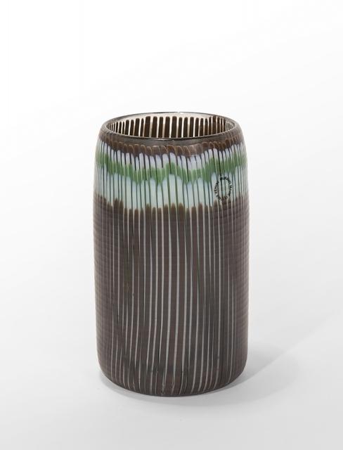 Toni Zuccheri, 'A vertical pipe vase beaten surface', circa 1980, Aste Boetto
