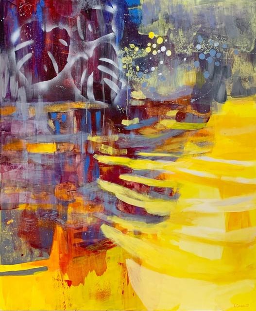 Anna Masiul-Gozdecka, 'Reflections 8', 2021, Painting, Acrylic on canvas, Gallery Katarzyna Napiorkowska | Warsaw & Brussels