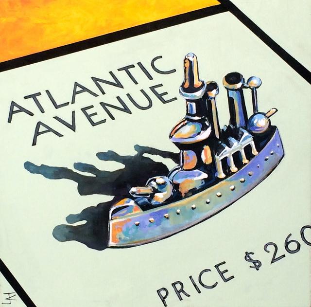 , 'Atlantic Ave Battleship,' 2016, Artspace Warehouse