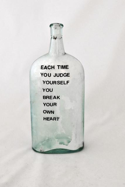 , 'Each Time You Judge,' 2004, Carter Burden Gallery