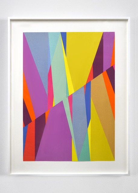 Odili Donald Odita, 'Cut', 2016, Anderson Ranch Arts Center Benefit Auction