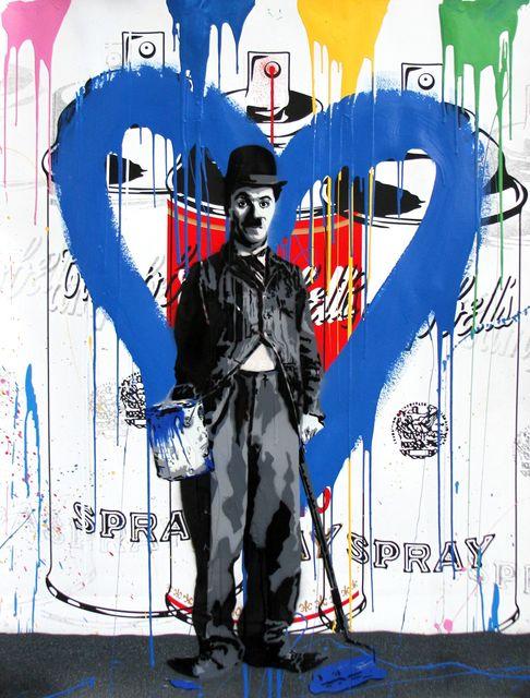 Mr. Brainwash, 'Chaplin', 2017, Maddox Gallery
