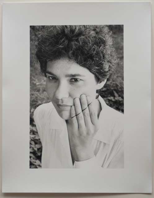 , 'Line/Self Portrait,' 1976, Mor Charpentier