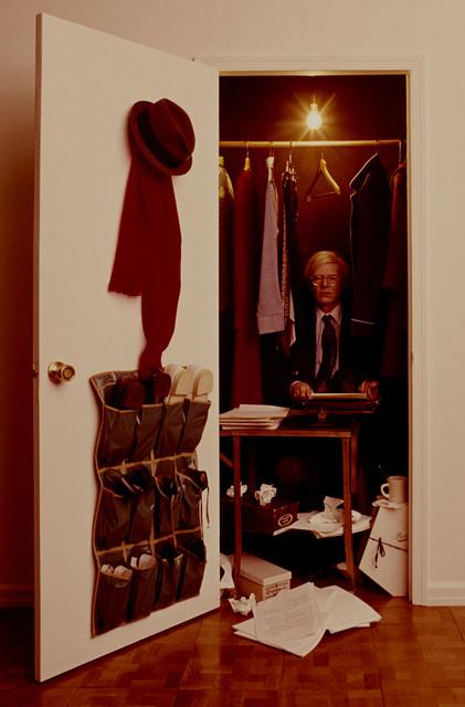 , 'Andy Warhol in a Closet,' 1975, CAMERA WORK