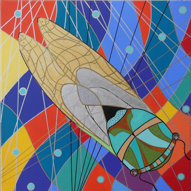 , 'Cicada,' 2017, Brickworks Gallery