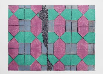 Lina Puerta, 'Pattern 1 Magenta + Purple + Green,' 2015, ICI Annual Benefit & Auction 2016