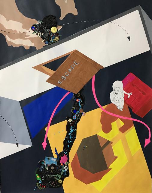 , 'No Escape (Hatch) 4,' 2017, Lesley Heller Gallery
