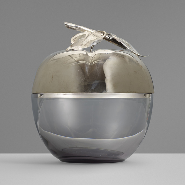 'Silver ice bucket', c. 1965, Wright