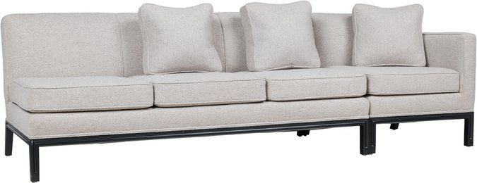 Sectional Sofa with Chair