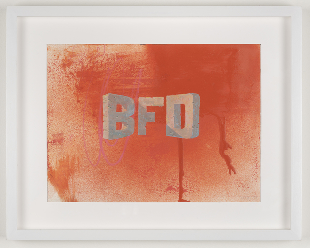 , 'BFD,' 2019, Joshua Liner Gallery