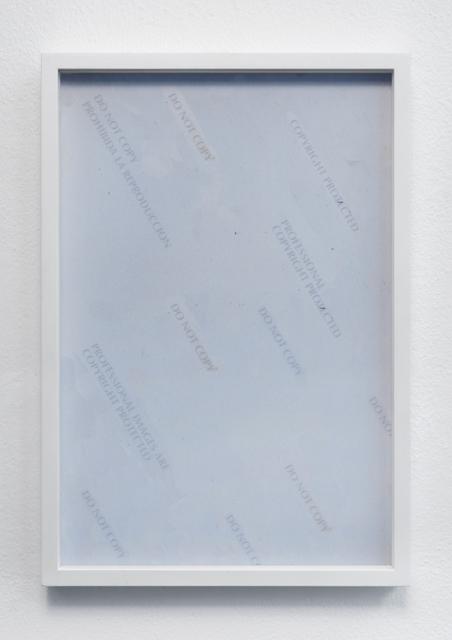 , 'PICS,' 2014, Giampaolo Abbondio