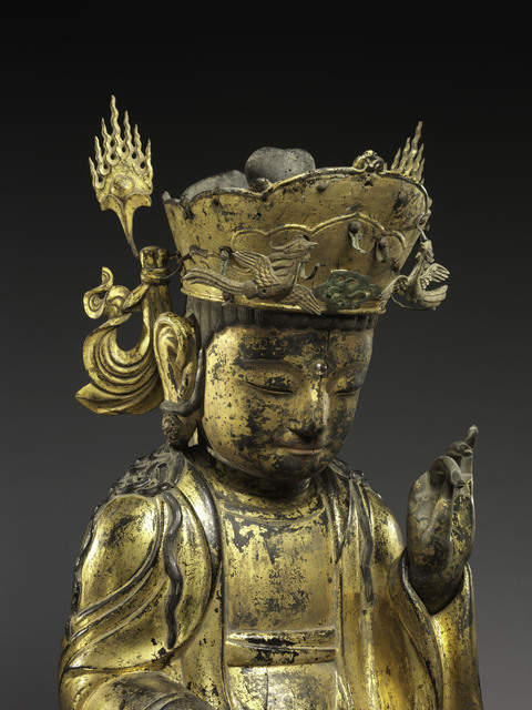 , 'Seated bodhisattva (detail),' 1392-1910, The Metropolitan Museum of Art