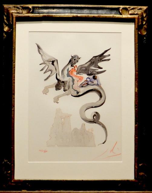 Salvador Dalí, 'Divine Comedy Hell Canto 18', Fine Art Acquisitions