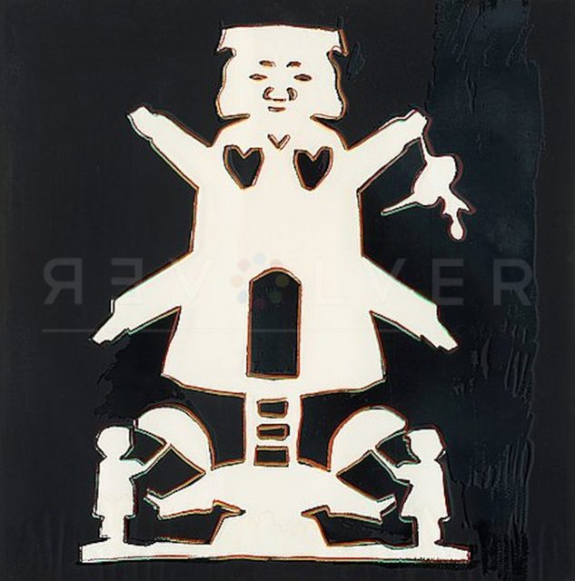 Andy Warhol, 'Hans Christian Andersen (FS II.401)', 1987, Print, Screenprint on Lenox Museum Board, Revolver Gallery