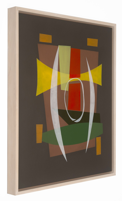 Willard Lustenader, 'Party Crasher', 2017, Painting, Alkyd on panel, FRED.GIAMPIETRO Gallery