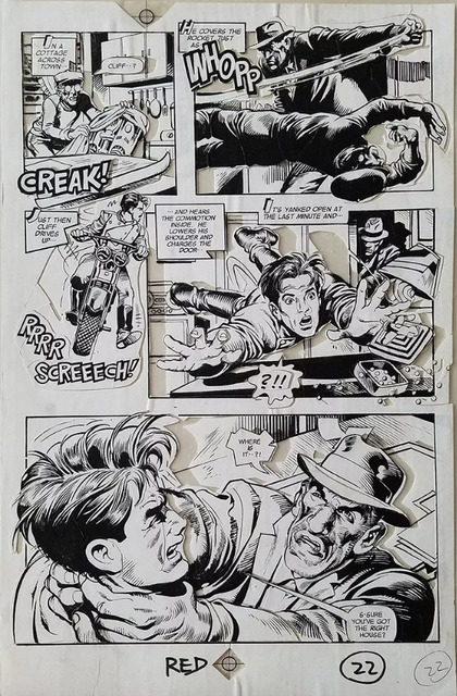 , 'ROCKETEER MOVIE 3D COMIC (1991) #1 pg 22 Ray Zone & Neal Adams,' 1991, Gallery 30 South