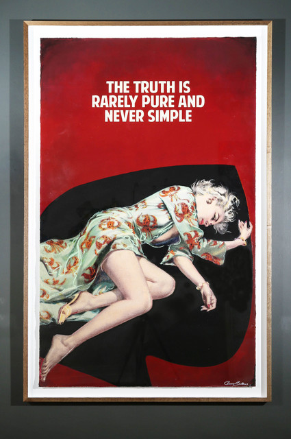 , 'The Truth Is Rarely Pure And Never Simple ,' 2017, Maddox Gallery