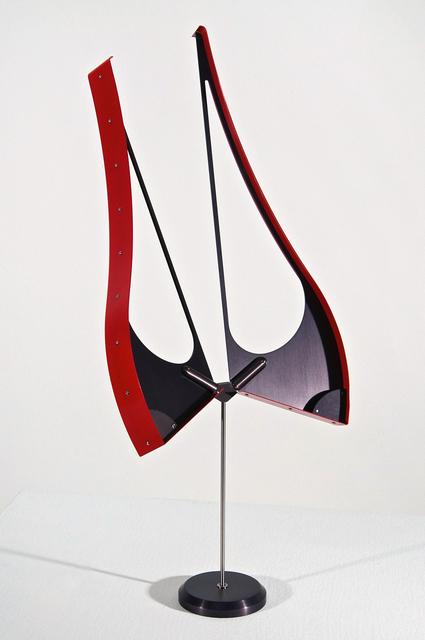 , 'Bicorne (red),' 2016, Davidson
