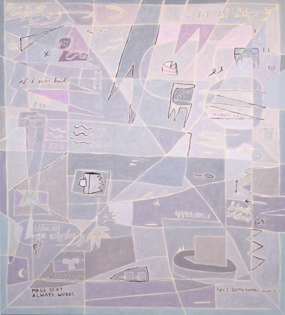 , 'Mass Sext,' 2016, Johannes Vogt Gallery