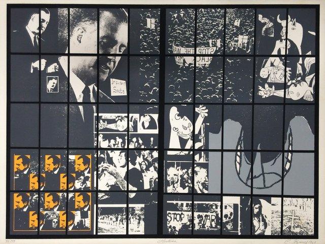 Carlos Irizarry, 'Moratorium II (Nixon)', 1969, Matadero
