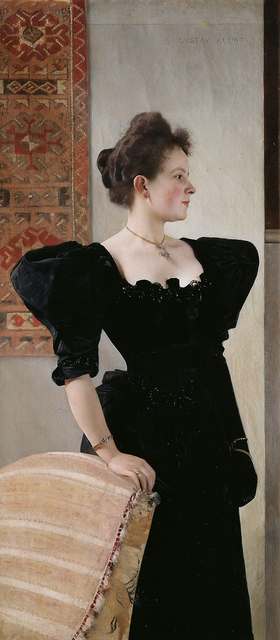 , 'Portrait of a Woman,' about 1894, Belvedere Museum