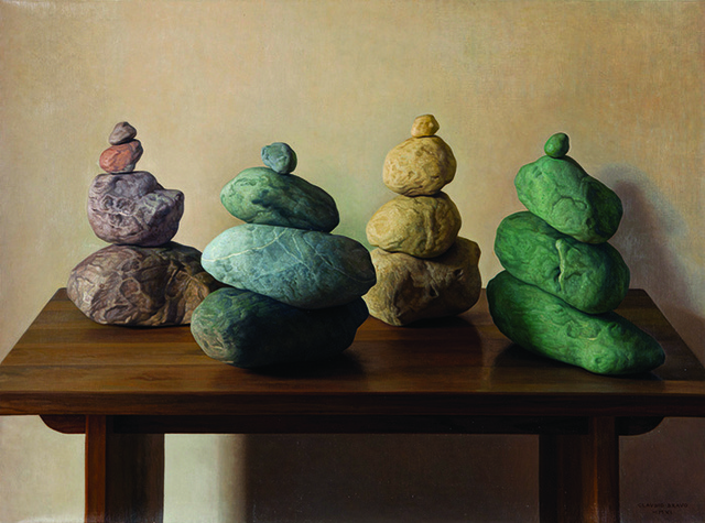 , 'Four Stone Groups (Cuatro grupos de piedras),' 2011, Marlborough Madrid & Barcelona