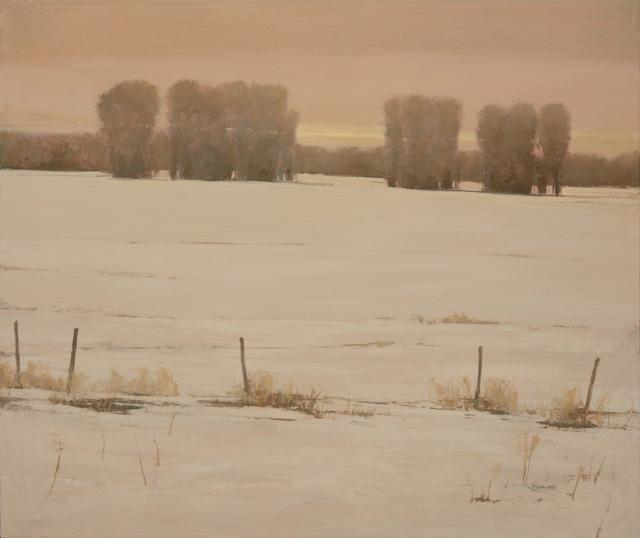, 'Winter Sunset,' 2016, Gallery 1261