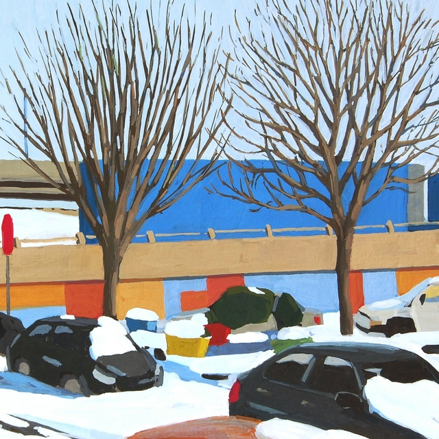 , 'Snow Day,' 2017, Cerulean Arts
