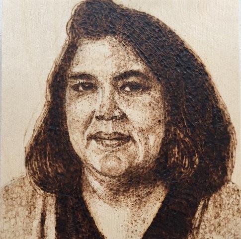 Nancy Lunsford, 'Wilma Mankiller (1945 - 2010)', 2018, 440 Gallery