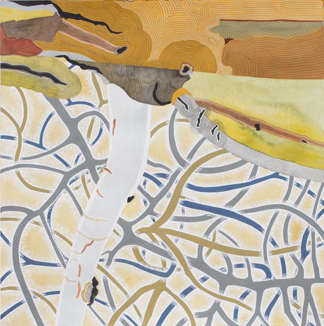, 'Untitled V (blowdown series),' 2018, Michael Warren Contemporary