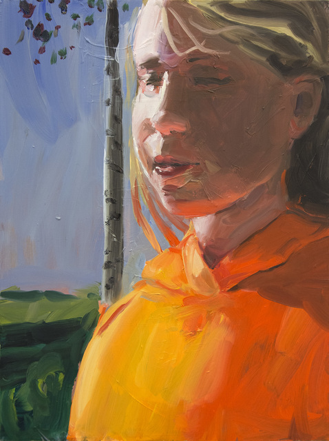 , 'Orange,' 2015, Galleri Magnus Karlsson