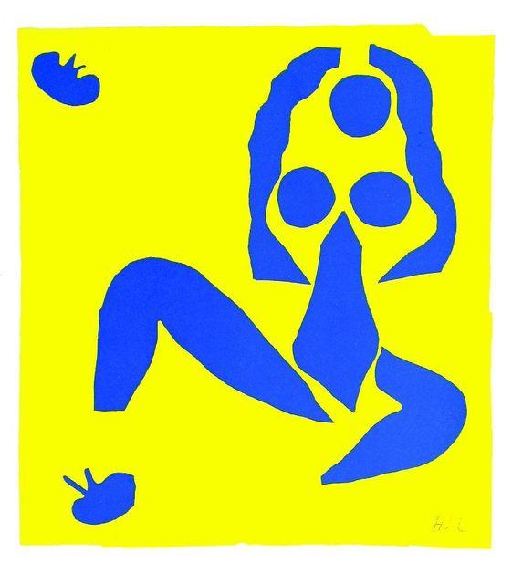 Henri Matisse, 'NU BLEU IV; ACROBATES', 1954, Sworders