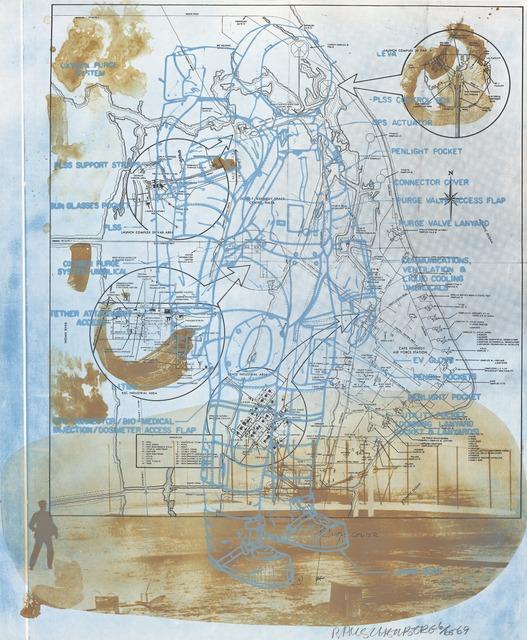 Robert Rauschenberg, 'Trust Zone (Stoned Moon)', 1969, San Francisco Museum of Modern Art (SFMOMA)