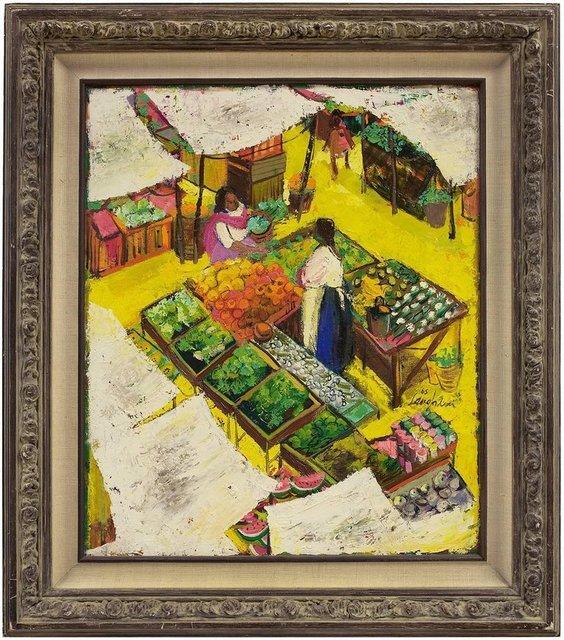 Unknown, 'Market Scene', Mid-20th Century, Lions Gallery