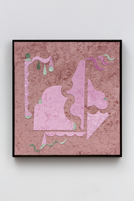 , 'Pink on Pink Luxe, Green sorrow,' 2019, STACKS PROJECTS
