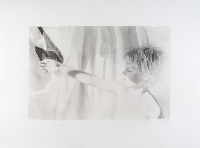 , 'Alex Holding Wing,' 1979, Dowling Walsh