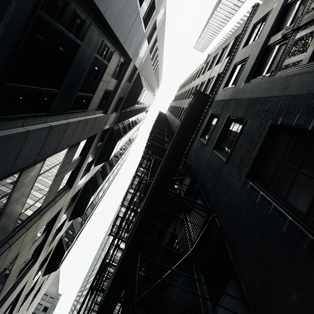 Kely McClung, 'Falling Up – Chicago Alleys #32', 2016, Michael Warren Contemporary