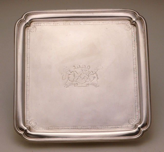 Paul de Lamerie, 'Salver', 1731-1732, Clark Art Institute