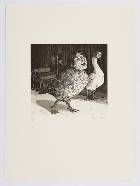 Paula Rego, 'Goosey-Goosey Gander', 1989, Marlborough Graphics