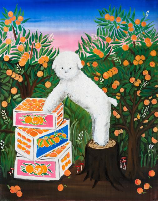 Claire Milbrath, 'Orange Dream', 2020, Painting, Oil on canvas, Projet Pangée