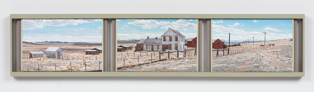 , 'Old Ranch House, Park County Road 59, Colorado,' 2012, Valley House Gallery & Sculpture Garden