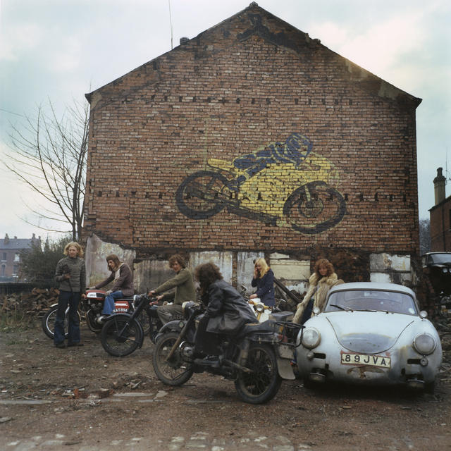 , 'Kingston Racing Motors. Leeds, 1975,' 2017, Galerie Clémentine de la Féronnière