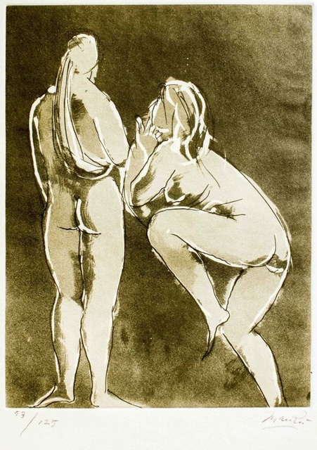 Giacomo Manzù, 'Dancers', 1970, Wallector