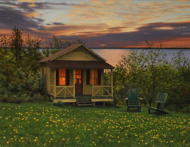 Scott Prior, 'Cabin Near the Ocean in Spring', 2015, William Baczek Fine Arts