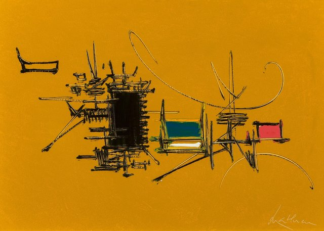 Georges Mathieu, 'Chabris', 1969, Heritage Auctions