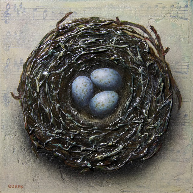 , 'Birds Nest 3,' 2018, Abend Gallery
