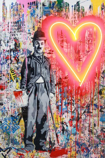 Mr. Brainwash, 'Chaplin', 2019, Taglialatella Galleries