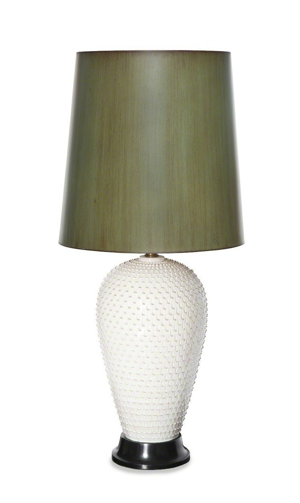 Paul Laszlo, U0027Exceptional Large Ceramic Table Lamp By Paul Laszlou0027, Ca.