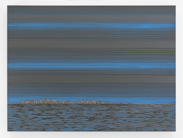, 'Nocturnal (Blue Horizon),' 2017, Anthony Meier Fine Arts